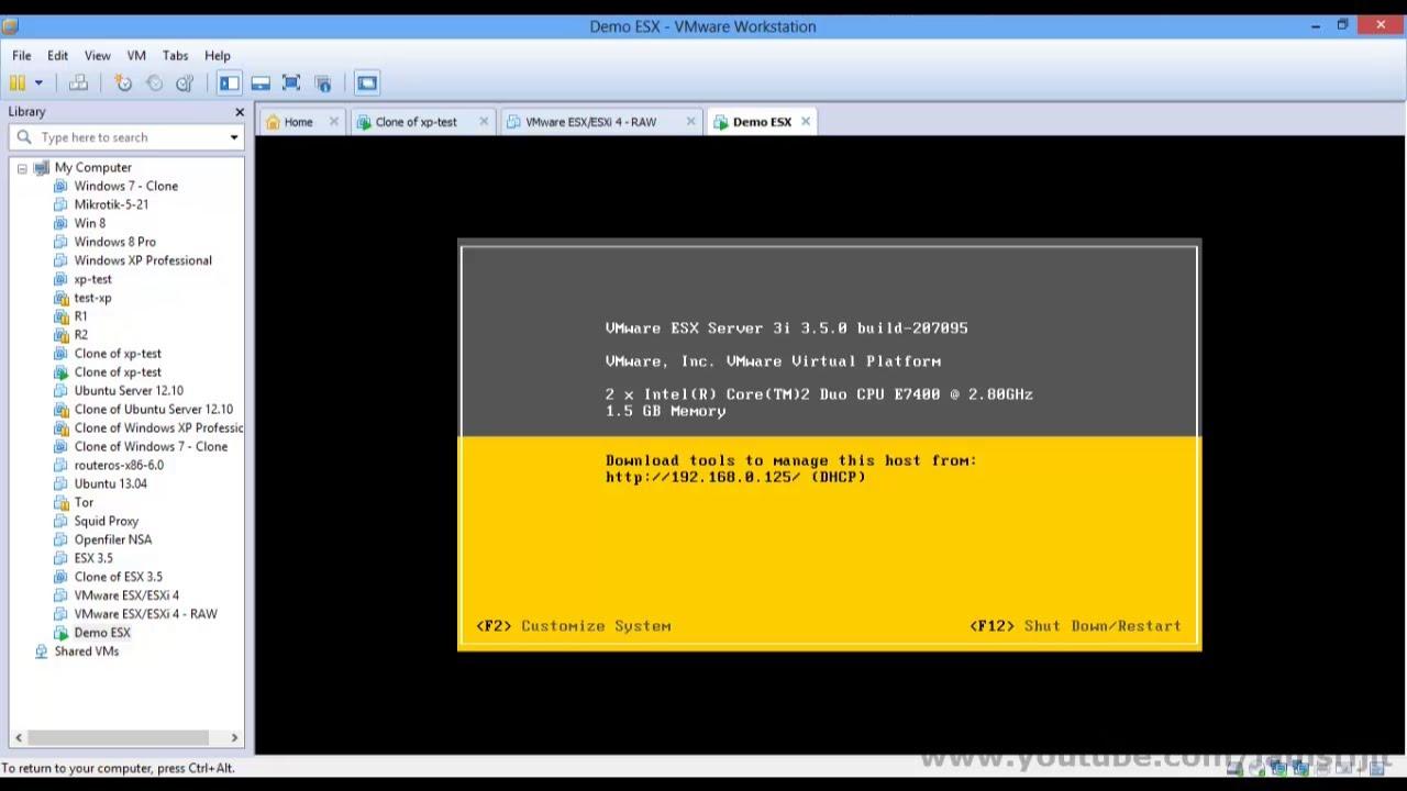Oracle-base vmware esx server 3. 5 update 2 installation.