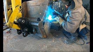 modifying-an-excavator-bucket