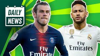 Neymar zu Real Madrid, Bale dafür zu PSG? Monster-Tausch-Transfer!