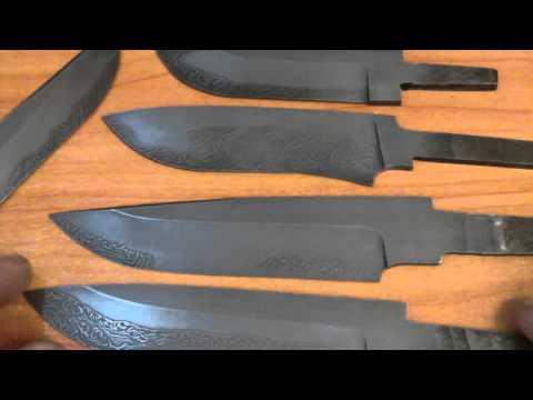 Клинки ножей