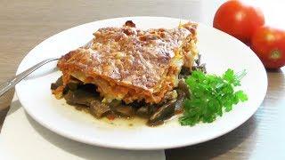 Овощное рагу в духовке (запеканка из баклажанов и кабачков) - рецепт для лакто-ово-вегетарианцев