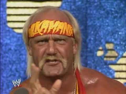 Hulk Hogan Interview at Wrestlemania 4