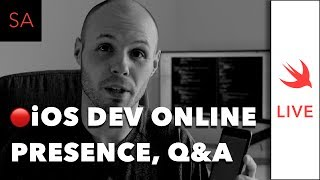 LIVE: iOS Dev Online Presence - Why it's Important. Q&A