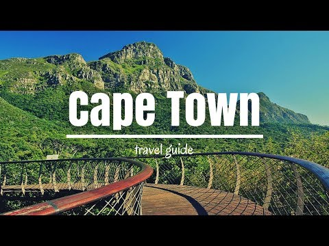 CAPE TOWN Travel Guide, 5 best places in cape town south africa!!
