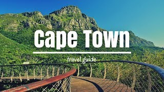 CAPE TOWN Travel Guide, top 5 best places in cape town !!