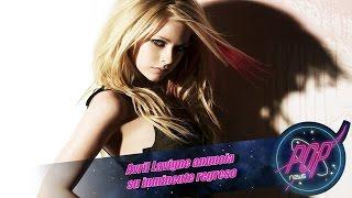 Avril Lavigne anuncia Warrior, su inminente regreso