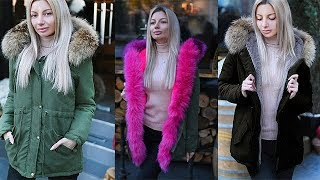 What to Wear? Women Winter Jacket. Winter Outfits Lookbook.