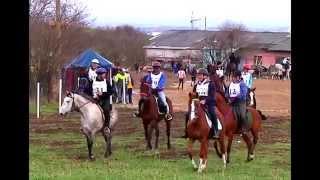 конный пробег и джигитовка в КБР