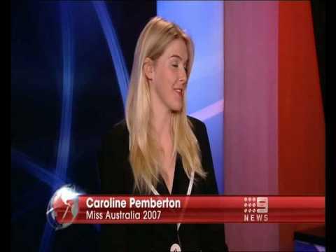 Nine News - Kristina Keneally has a dig at Miss Australia