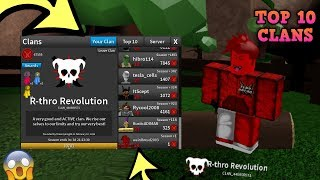 I JOINED A CLAN *IT'S ON THE TOP 10 LEADERBOARD* (ROBLOX ASSASSIN JOINING A CLAN PLUS SOME GAMEPLAY)