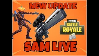 NEW SCOPED REVOLVER  FORTNITE SEASON 7 GRIND WITH FRIENDS AND SUBS