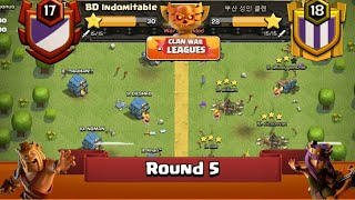 Clan War Leagues - TH12 Attacks - Clash Of Clans - Round 5 (Season 2)