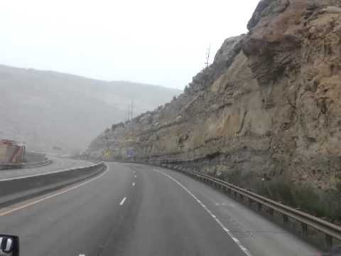 One of the short tunnels in Colorado on I 70