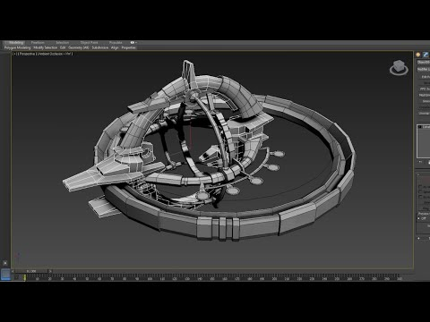 XO -  Space Station Modeling Timelapse