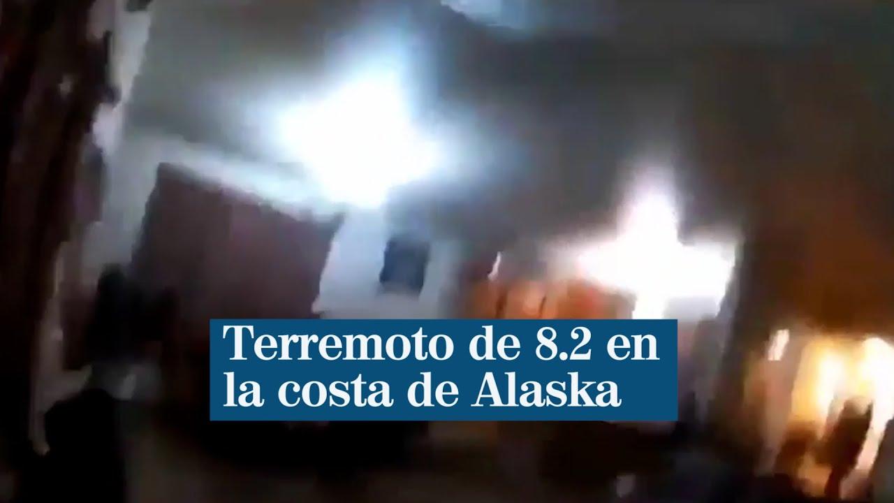 Download Terremoto de 8.2 en la costa de Alaska