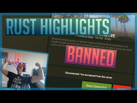ShackyHD Best Rust Moments   June 2018 Twitch Highlights