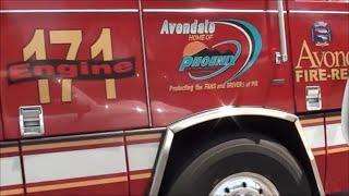 Arizona Fire Truck - Avondale, Arizona Engine 171, Red Fire Truck