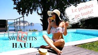12 Costume de Baie  - Bikini Try On HAUL -  AliExpress si Bershka