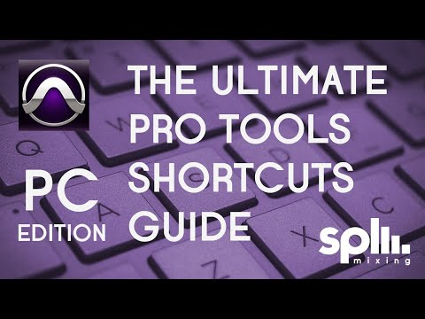 The Ultimate Pro Tools Shortcuts Guide | PC Edition | SPLmixing.com