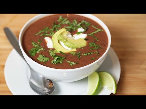 Black Bean Soup | Slow Cooker Meals