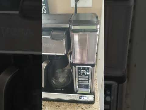 Ninja coffee maker problem