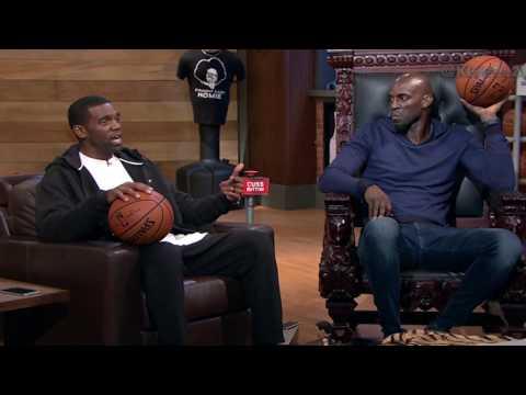 Area 21: Randy Moss Reminisces on Why He Chose Football | Inside the NBA |  NBA on TNT