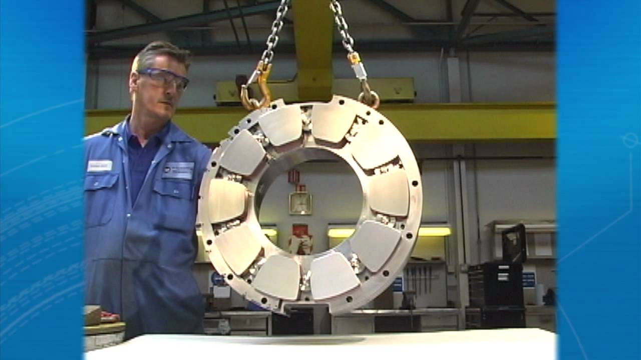 thrust bearing animation. thrust bearing animation