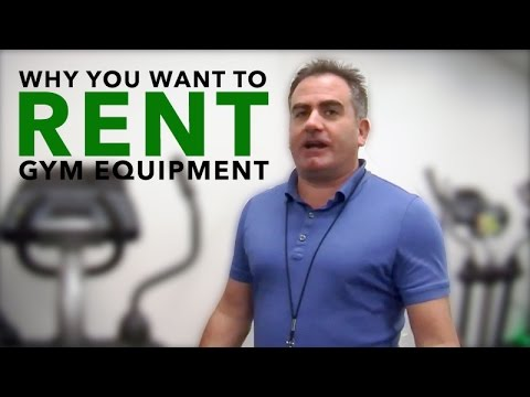 Why You Want To Rent Gym Equipment | RENT