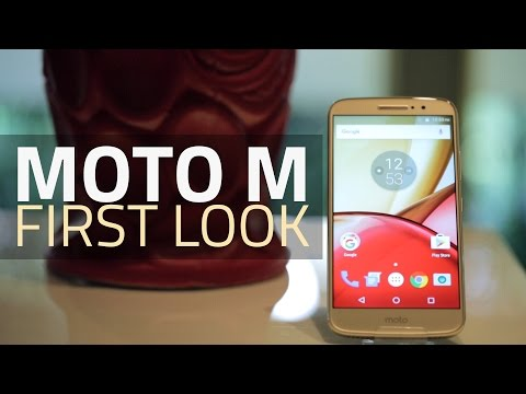 Moto M First Look | India Price,...