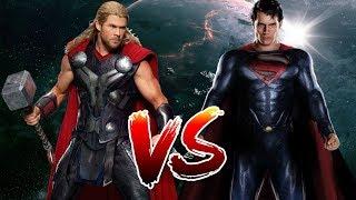 Superman VS Thor | Who Wins