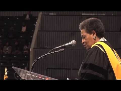 2015 Commencement Myrlie Evers Williams
