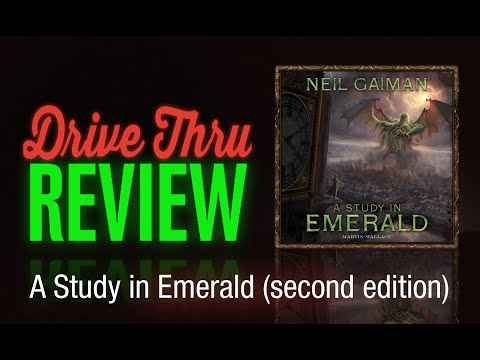 A Study in Emerald (second edition) Review
