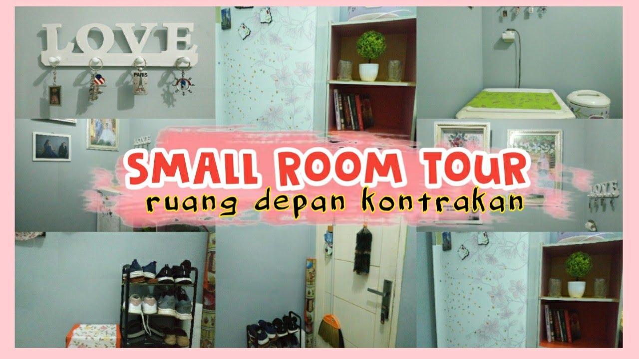 Small Room Tour Kontrakan| Makeover Kontrakan 3 Petak|Dekorasi Ruang Sempit  - YouTube