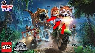 СТРОЙКА ПОЛНЫМ ХОДОМ! Рокки играет в Lego Jurassic World!