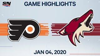 NHL Highlights   Flyers vs Coyotes – Jan. 4, 2020