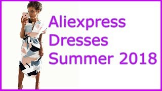 Aliexpress Dresses Summer Women 2018 Алиэкспресс платье Plus Size