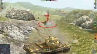 WoT Blitz T30 4.7K Mod test