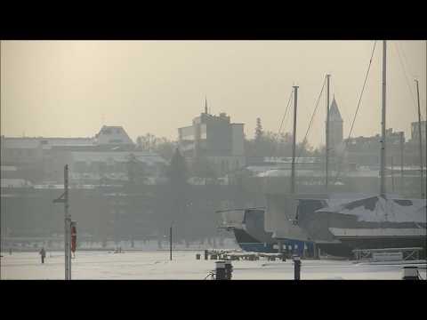 Lappeenranta in Winter, music Vivaldi's Four Seasons - Winter.