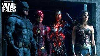 JUSTICE LEAGUE | Batman Unites his Team with Wonder Woman, Aquaman, Flash & Cyborg