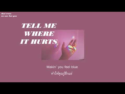 (THAISUB) Tell Me Where It Hurts - MYMP แปลเพลง