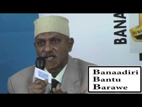 Banaadiri Bantu & Baraawe press release