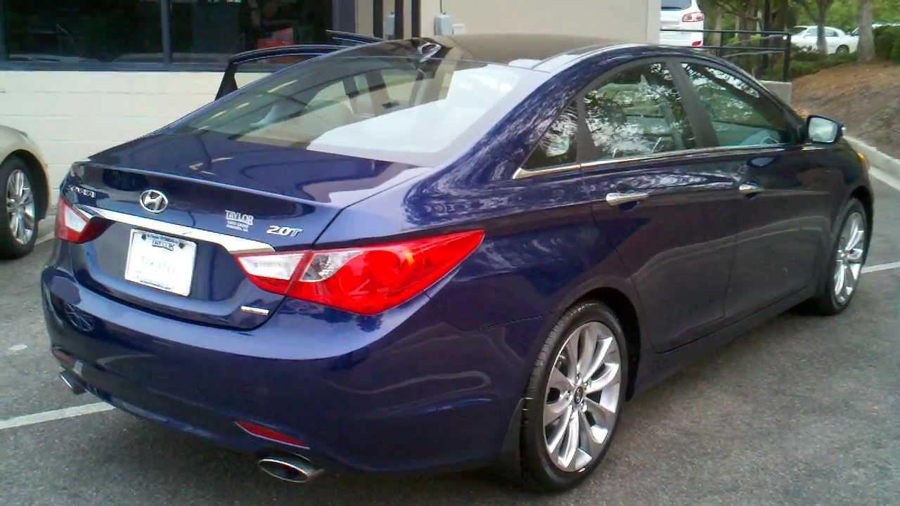 2012 Hyundai Sonata 2 0T Limited with Navigation and