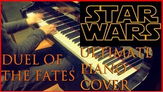 duel of the fates ultimate piano cover star wars theme