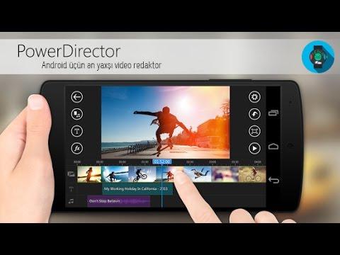 CyberLink PowerDirector(Android üçün ən yaxşı video montaj proqramı)