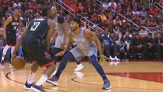 James Harden Schools Derrick Rose! Rockets vs Timberwolves