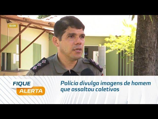 Polícia divulga imagens de homem que assaltou coletivos em Maceió