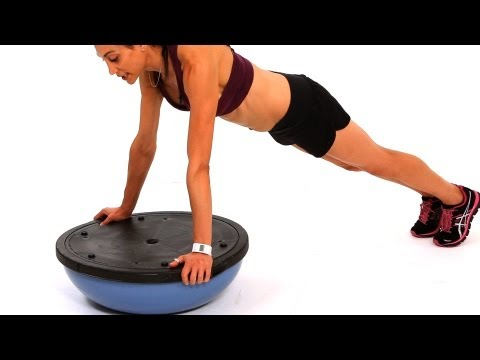 How to Do a Platform Push-Up | Bosu Ball Workout