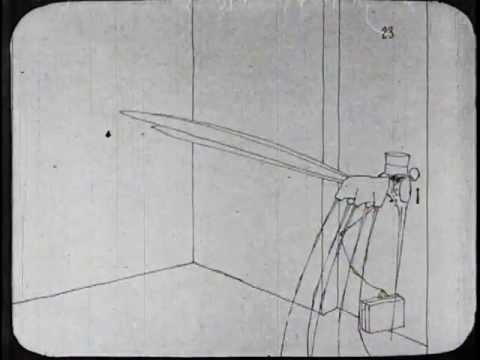 How a Mosquito Operates (1912) Winsor McCay animation
