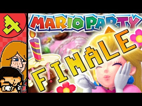 Mario Party 1  Peach's Birthday Cake  N64 Multiplayer Gameplay