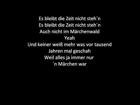 Märchenwald - Kiddy Contest 2009 Songtext